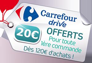 - redirection automatiquement vers Carrefour drive -