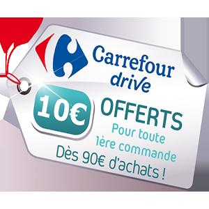 bon de réduction Carrefour Drive